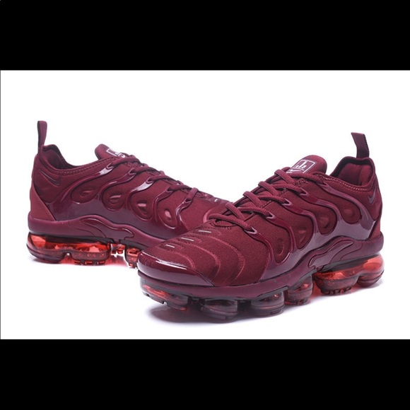 hot sale online b9daf e62d3 2018 Nike Air VaporMax Plus 'Burgundy/ Wine NWT